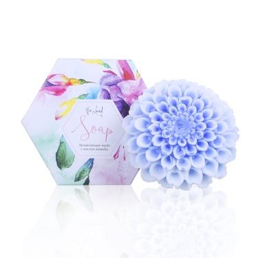 Увлажняющее мыло (хризантема голубая)