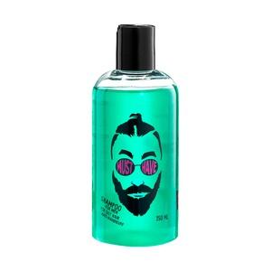 Oily hair treatment for men