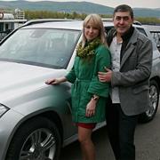 Елена Никонова и Максим Попов, GLK-Класс