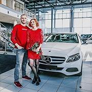 Евгения и Сергей, C-Класс