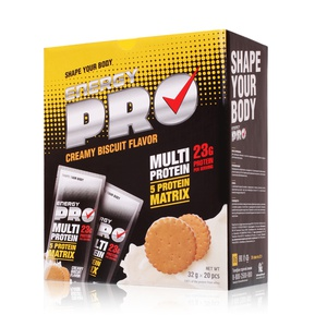 Multi protein. Creamy biscuit