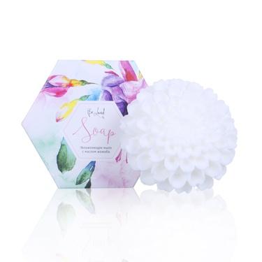 Увлажняющее мыло (хризантема белая)