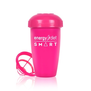 Pink shaker cup