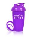 Purple shaker cup with flip cap