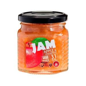 Low calorie Apple and cinnamon jam