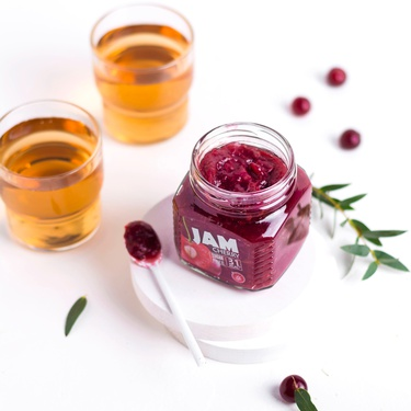 Low calorie Cherry jam