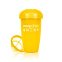 Yellow shaker cup