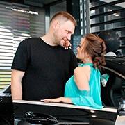Екатерина и Сергей Акимовы, CLA-Класс