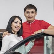 Динара Советханова и Асxат Токанов, C-Класс