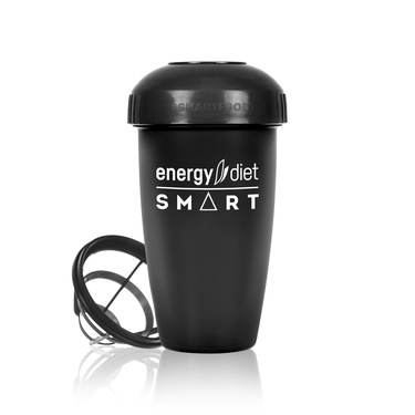 Black shaker cup