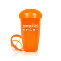 Orange shaker cup