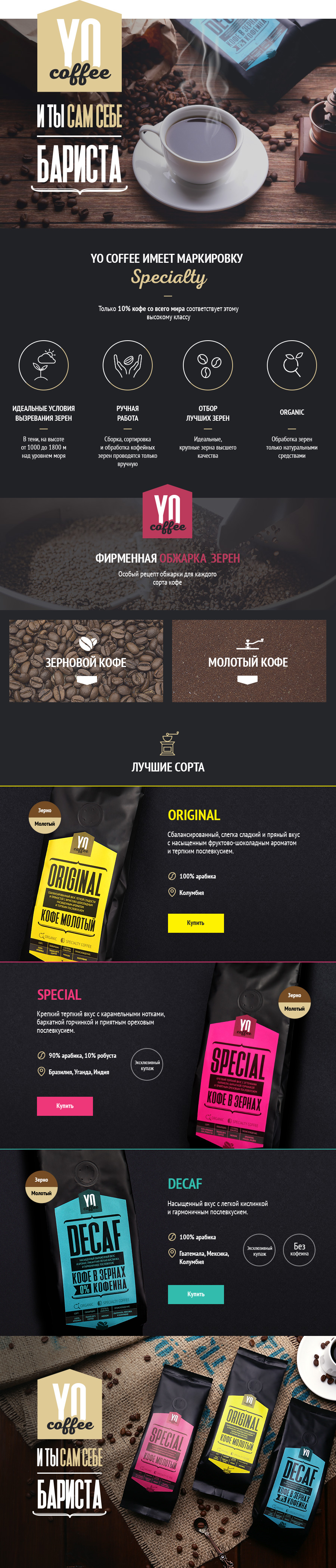 Презентация YO Coffee